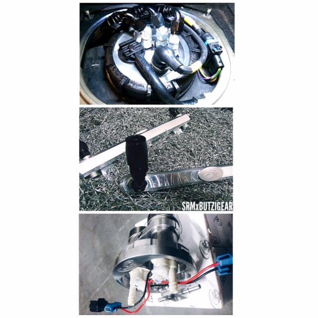 2015 996TT Fueling Kit SRM Butzigear