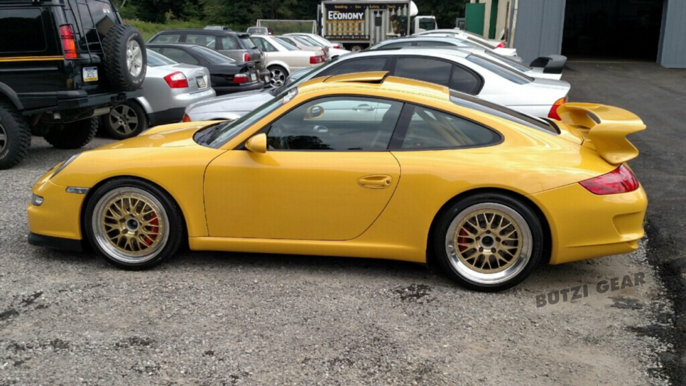 2015 butzi gear performance porsche 997 gt3 bbs wheels milford ct
