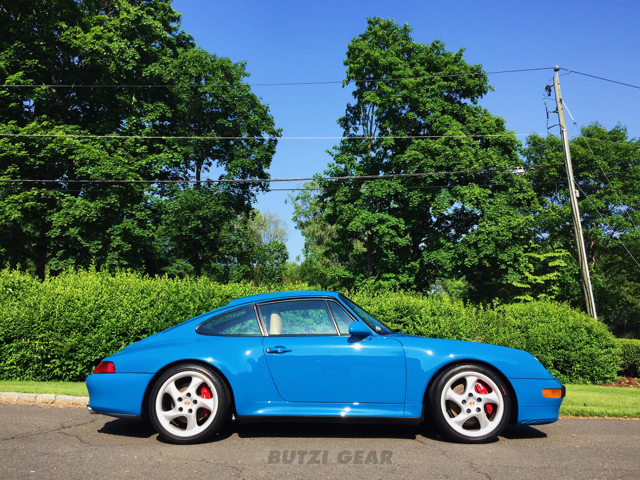 2015 butzi gear porsche 993 carrera s paint correction detail detailing milford new canaan ct