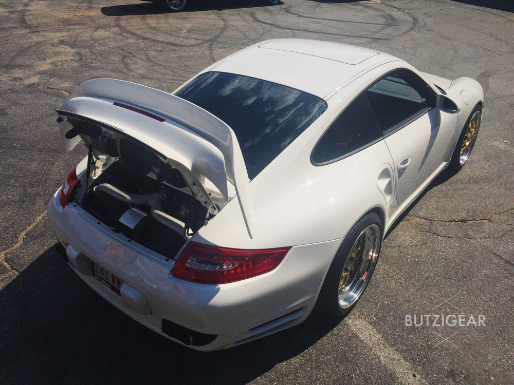 Butzi gear Porsche 997 turbo BBS motorsport e88 Connecticut Milford Porsche shop