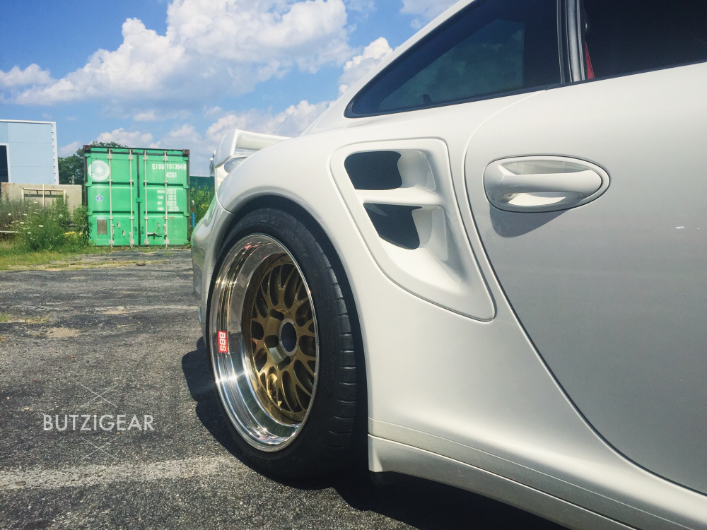 Butzi gear Porsche 997 turbo BBS e88 motorsport Connecticut Milford