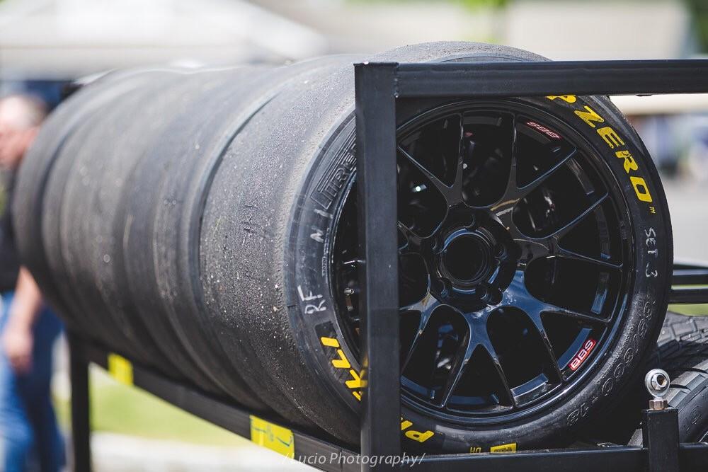 Pirelli World Challenge BBS wheels Lime Rock Park
